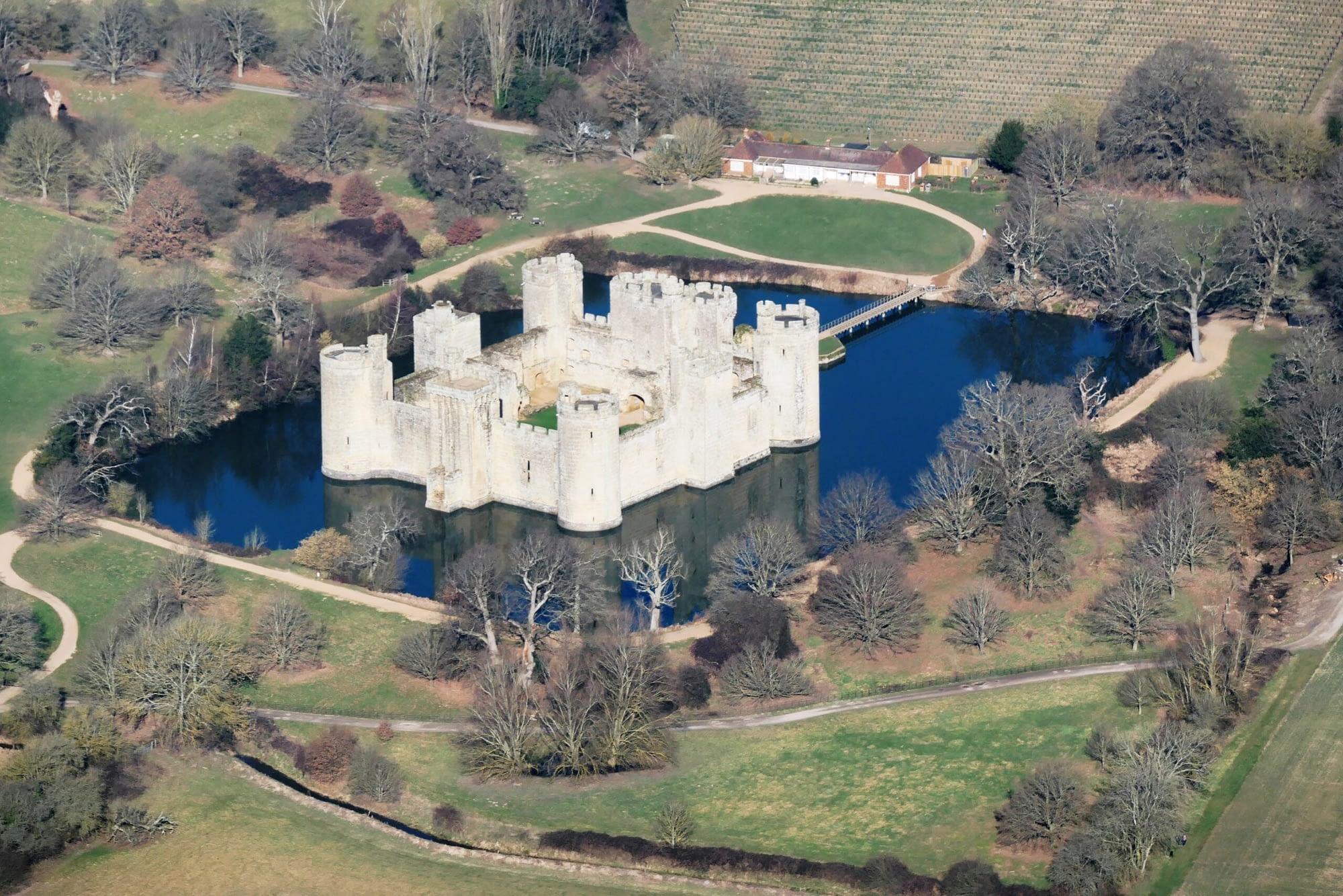 Local View - Bodiam Castle