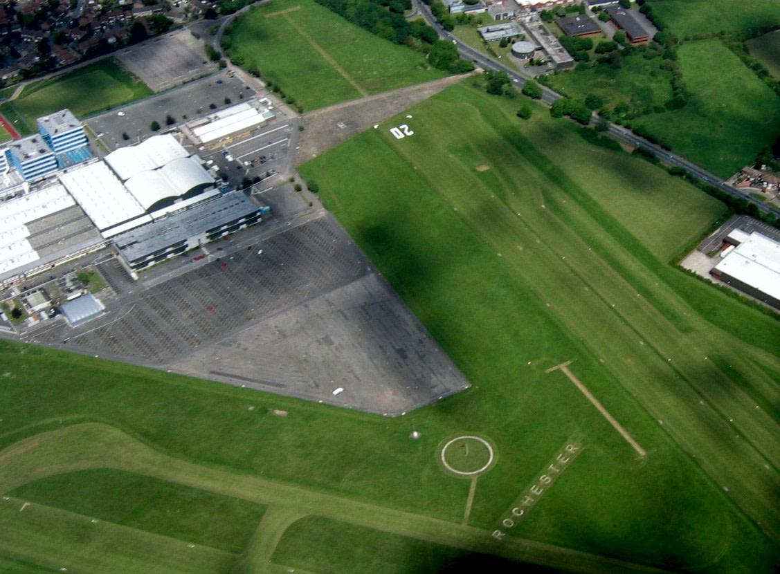 Rochester Kent Grass strip runway